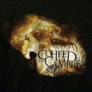 Shirts - COHEED AND CAMBRIA T-SHIRT 👕 FIRE Rock Music NEW